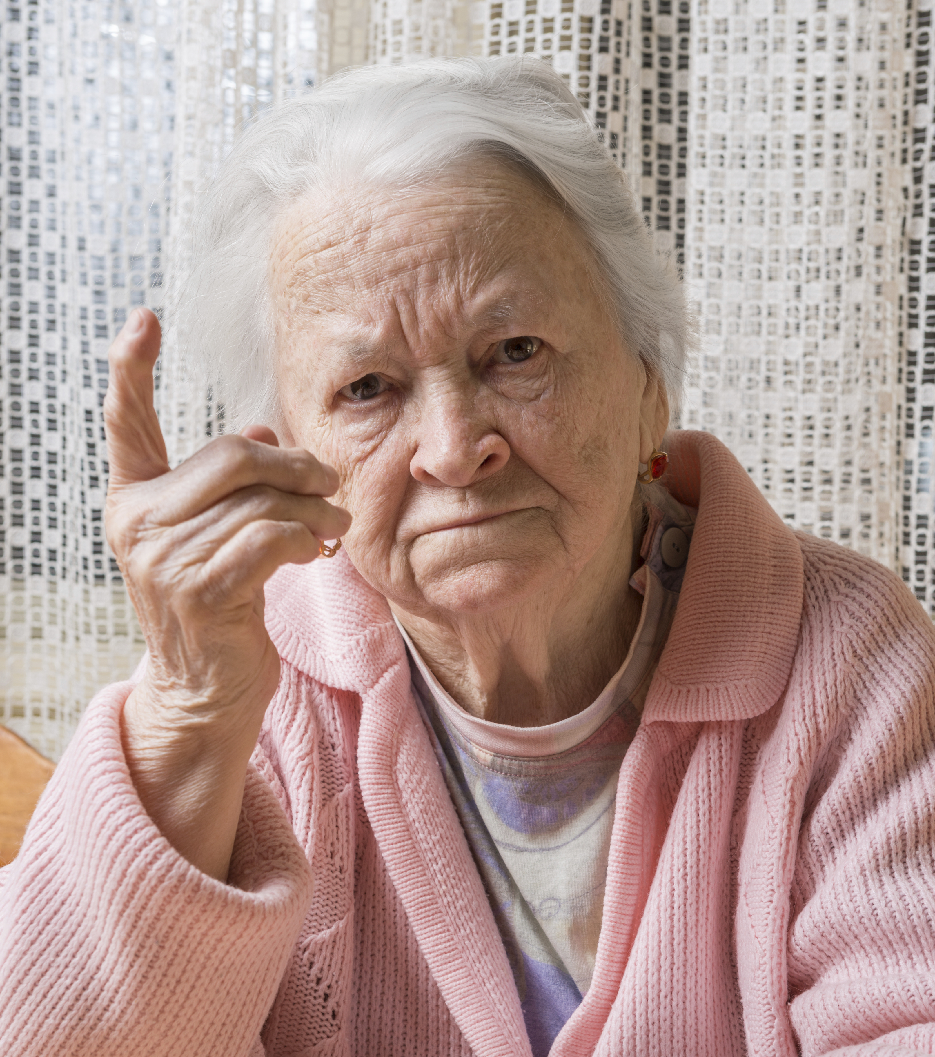 Pictures of nursing home residents